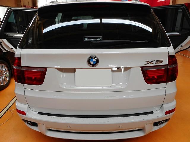 BMW X5 燃料ポンプの不具合で交換修理しました。