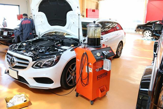 メルセデス・ベンツ Eクラス ワゴン(W212)の車検整備