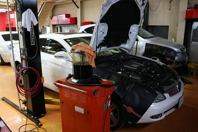 メルセデス・ベンツ CLSクラス(W219)の車検整備