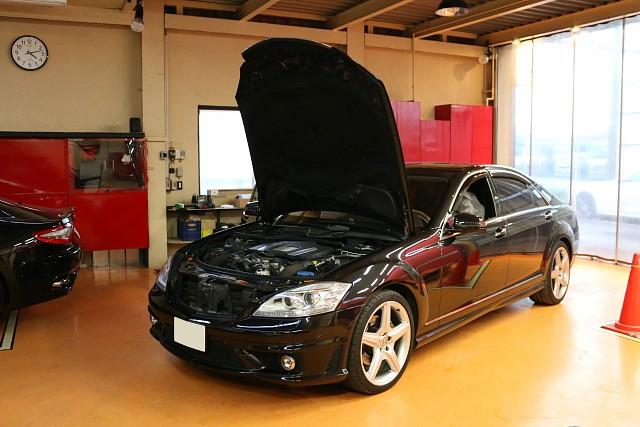 メルセデス・ベンツ S550(W221)の車両販売です。