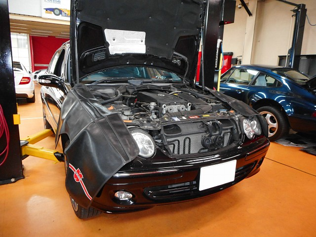 メルセデス・ベンツ Cクラス(W203)の車検整備