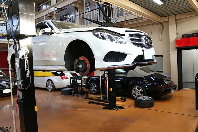 メルセデス・ベンツ Eクラス W212後期モデルの車検整備
