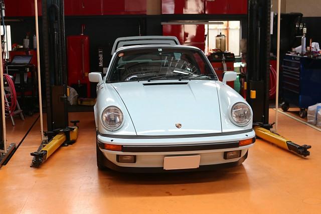ポルシェ 911(Type930) カレラ タルガ の車検整備