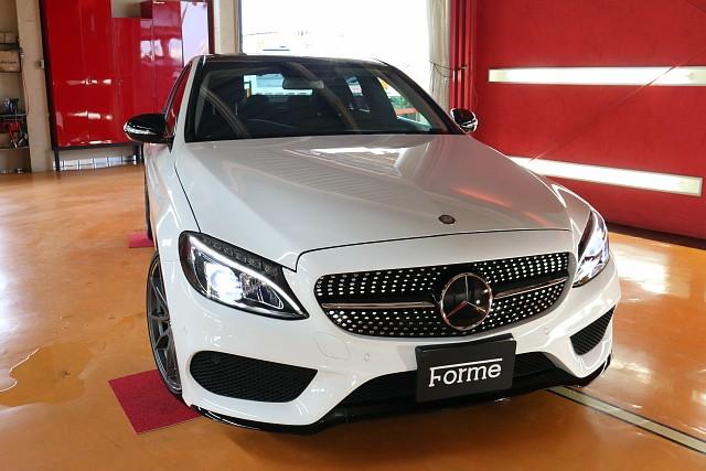 メルセデス・ベンツ CクラスC180 AMGスタイル (ホワイト)の車両販売