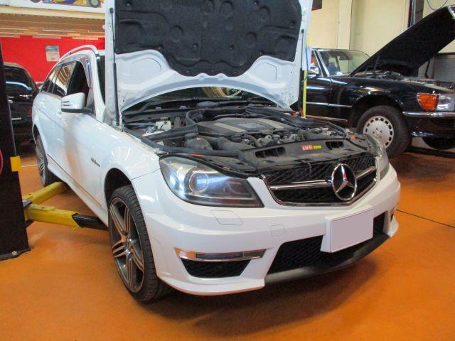 メルセデス・ベンツ Cクラスワゴン(W204T)の車検整備