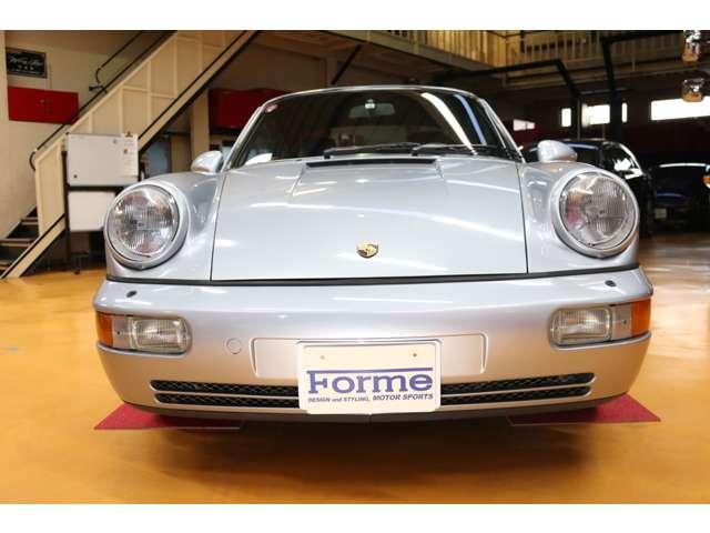 1992y ポルシェ 911 964型 カレラ2 ティプトロニック(シルバー)車両販売